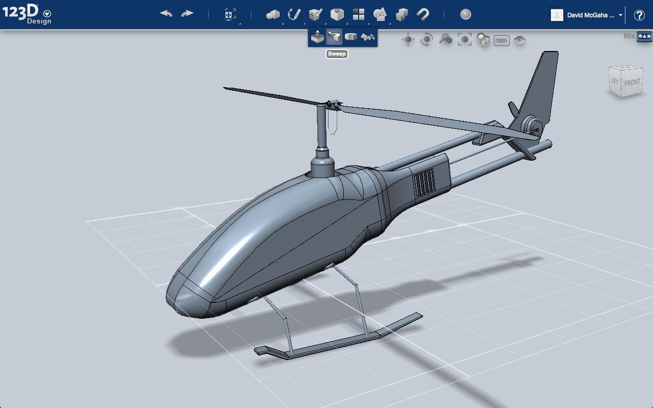Autodesk 123D Make - Imagem 2 do software