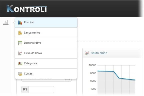 Kontroli - Imagem 2 do software