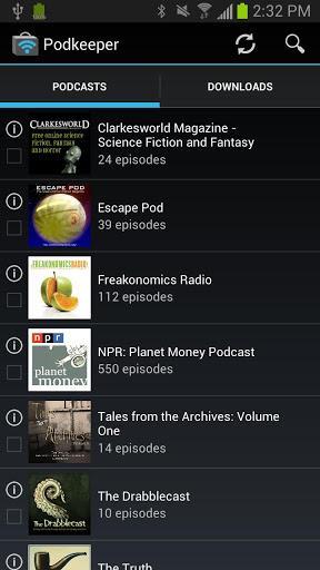 Podkeeper Free podcast player - Imagem 1 do software