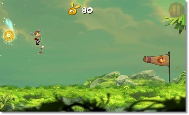 Rayman Jungle Run.