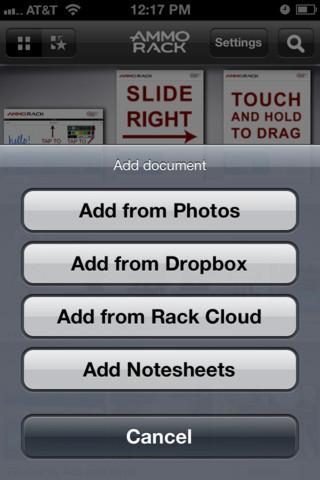 AMMO Rack - Imagem 2 do software