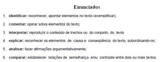 Material de língua portuguesa