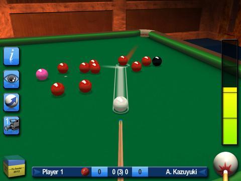 Pro Snooker 2012 - Imagem 1 do software