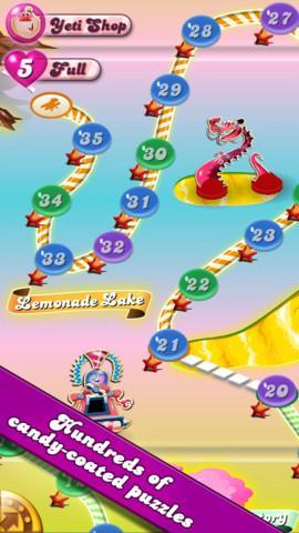 Candy Crush Saga para iPad - Imagem 2 do software