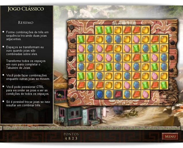 Jewel Quest - The Sapphire Dragon Deluxe - Imagem 1 do software