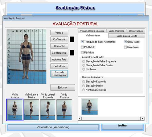 Software Avaliação Física Physical Test - Imagem 2 do software
