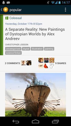 NewsBlur - Imagem 2 do software