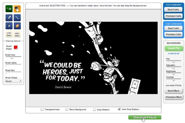 QuotesCover - Imagem 3 do software