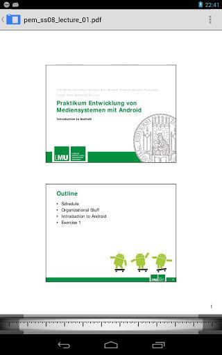 AnDoc - PDF & DJVU Reader - Imagem 2 do software