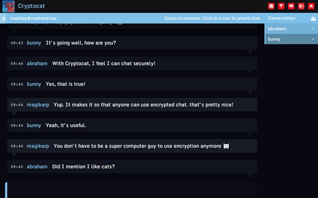 Cryptocat - Imagem 1 do software