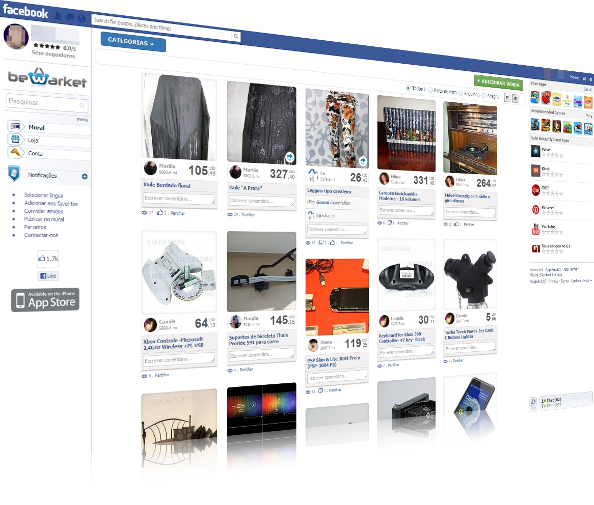 Bewarket - Imagem 1 do software
