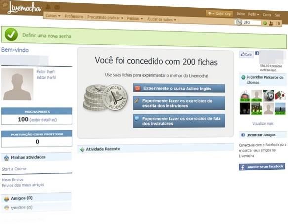 LiveMocha - Imagem 1 do software