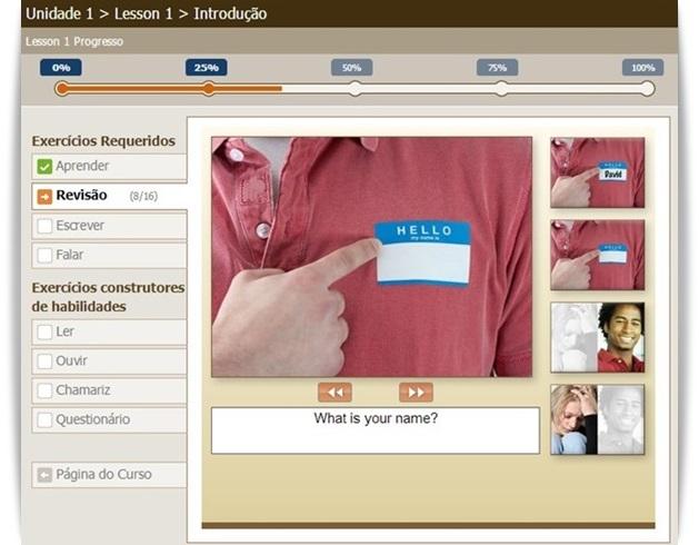 LiveMocha - Imagem 3 do software