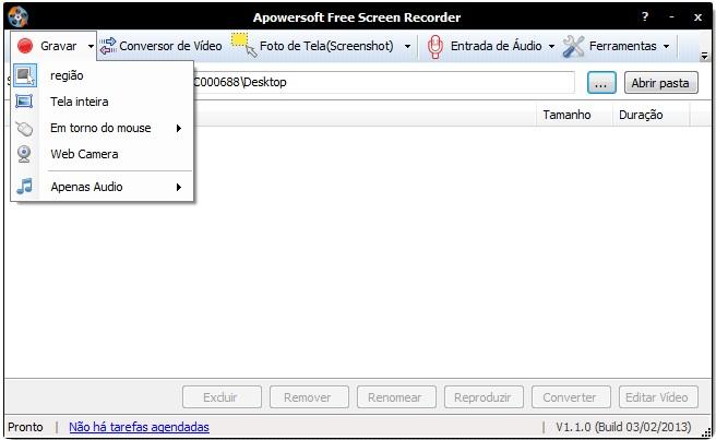 Apowersoft Free Screen Recorder - Imagem 1 do software
