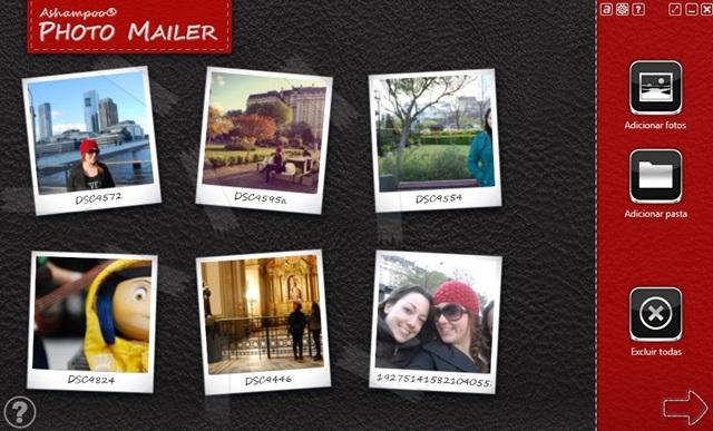 Ashampoo Photo Mailer - Imagem 1 do software