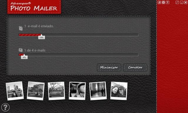 Ashampoo Photo Mailer - Imagem 2 do software