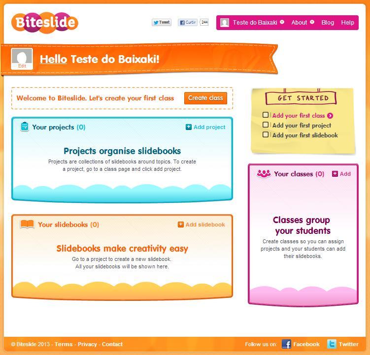 Biteslide - Imagem 1 do software