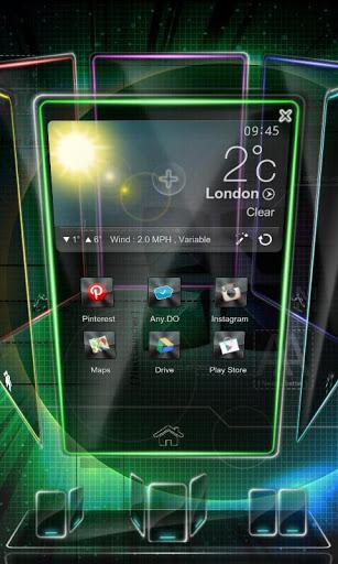 Next Launcher 3D Trial Version - Imagem 1 do software