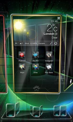 Next Launcher 3D Trial Version - Imagem 2 do software