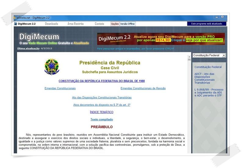 DigiMecum - Imagem 1 do software