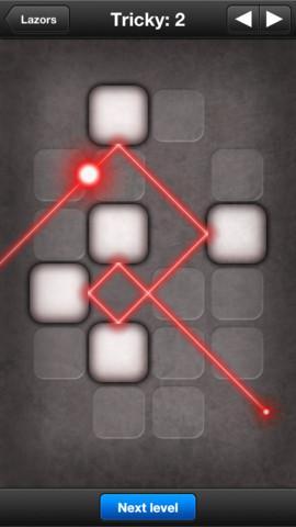 Lazors - Imagem 2 do software