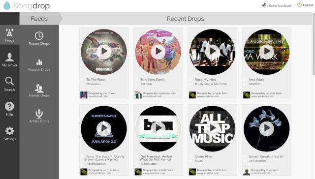 SongDrop - Imagem 1 do software