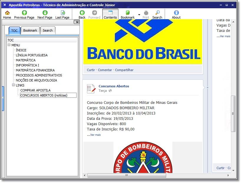 Apostila Petrobras — Técnico de Administração e Controle Júnior - Imagem 1 do software