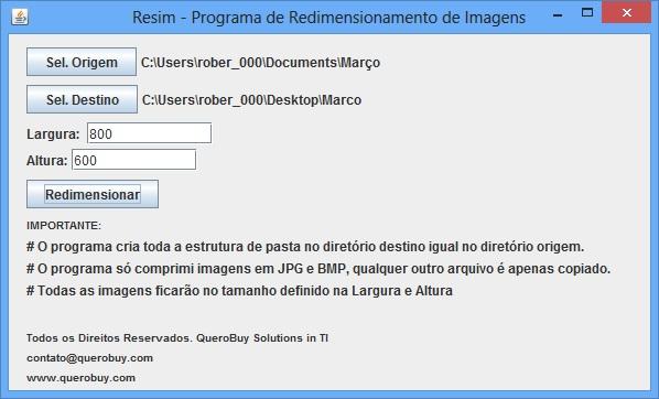 Resim - Imagem 1 do software