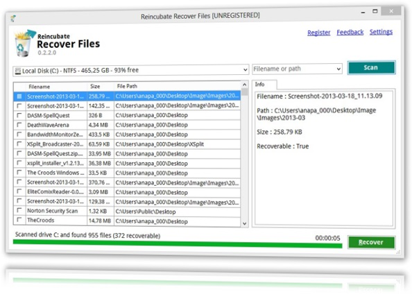 Reincubate Recover Files Download to Windows Grátis
