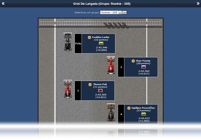 Grand Prix Racing Online - Imagem 2 do software
