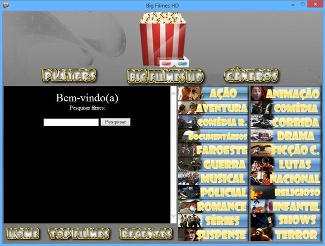 Big Filmes HD - Imagem 1 do software
