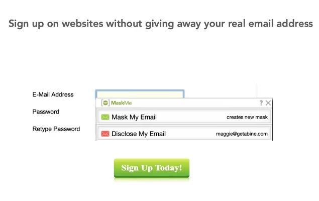 MaskMe for Chrome - Imagem 1 do software