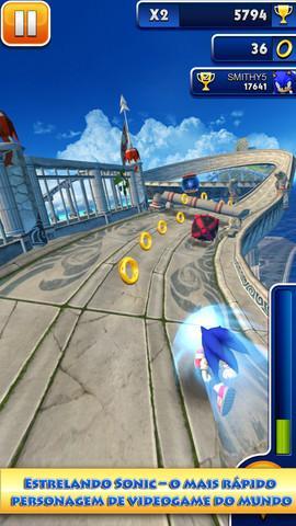 Sonic Dash - Imagem 1 do software