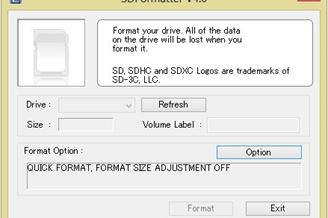 sd formatter download 32 bit