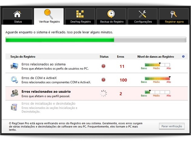 RegClean Pro - Imagem 3 do software