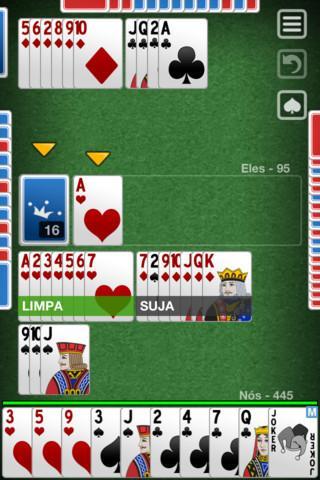 Buraco Jogatina - Imagem 2 do software
