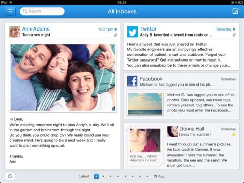 Incredimail - Email App for iPad - Imagem 1 do software