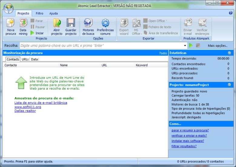 Atomic Lead Extractor Download to Windows em Português Grátis