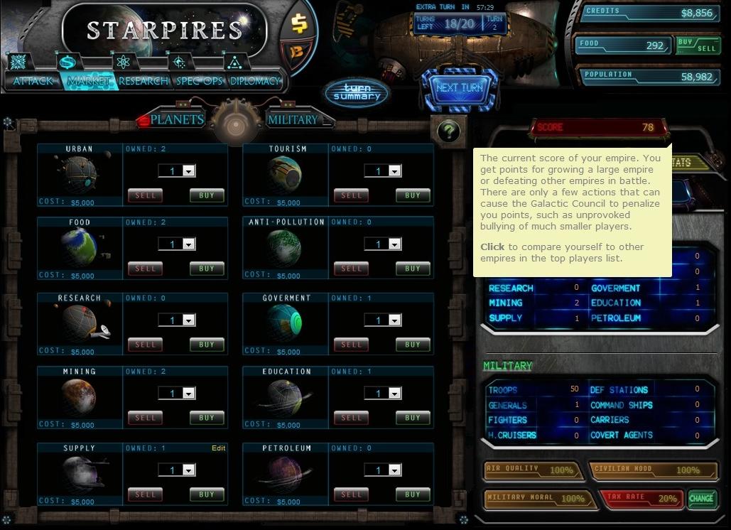 Starpires - Imagem 1 do software