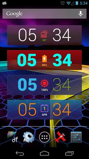 Colourform (HD Widgets Pack) - Imagem 1 do software