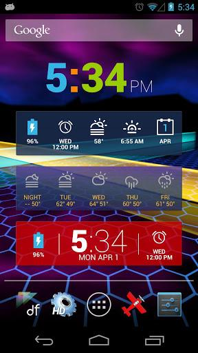 Colourform (HD Widgets Pack) - Imagem 2 do software