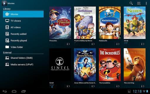Archos Video Player - Imagem 1 do software