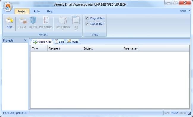 Atomic Email Autoresponder - Imagem 1 do software