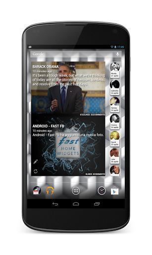 Fast Home Widgets For Facebook - Imagem 1 do software