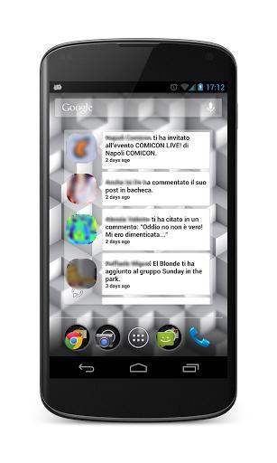 Fast Home Widgets For Facebook - Imagem 2 do software