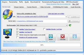 2.9.1324 DOWNLOADER ATUBE TÉLÉCHARGER MP3 MUSIC CATCHER