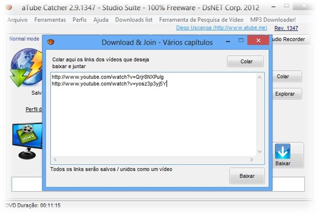 aTube Catcher - Imagem 4 do software