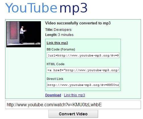 Youtube To Mp3 Converter Download Para Web Grátis