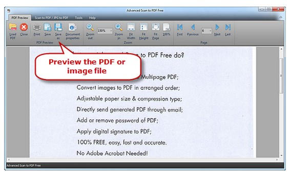 scan jpg to pdf software
