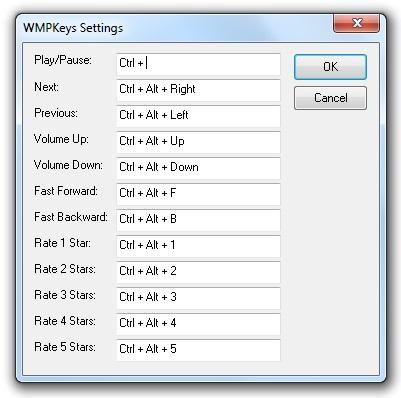 WMP Keys - Imagem 2 do software
